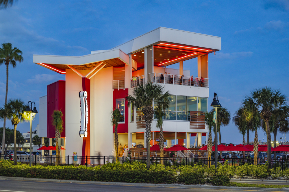 New Crabby's on Clearwater Beach